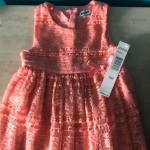 Orange Baby Dress